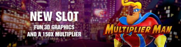 Multiplier Man USA online slot machine